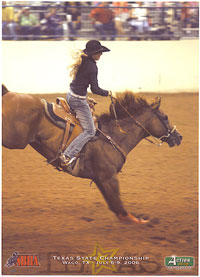 chasity the bronc rider